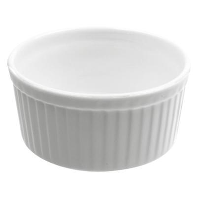 10 Strawberry Street WTR-3SUF 3 oz Ramekin - Porcelain, White