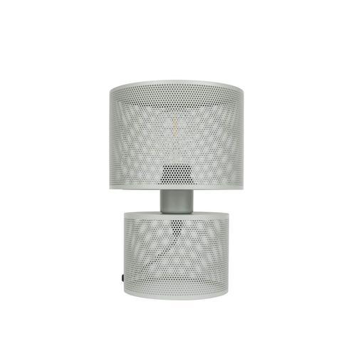 Zuiver Tischlampe Grid Grau