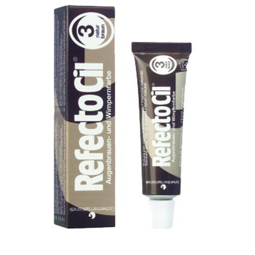 RefectoCil Augenbrauen- und Wimpernfarbe naturbraun Nr.3 (15 ml) Augenbrauen & Wimpernfarbe