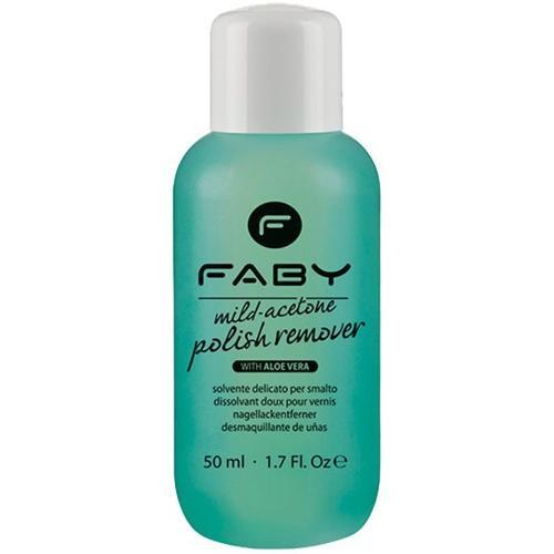 Faby Mild Acetone Polish Remover Aloe Vera 50 ml Nagellackentferner
