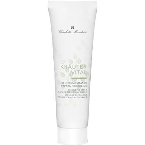 Charlotte Meentzen Kräutervital Reinigungsmaske Papaya-Heilkreide 30 ml Gesichtsmaske