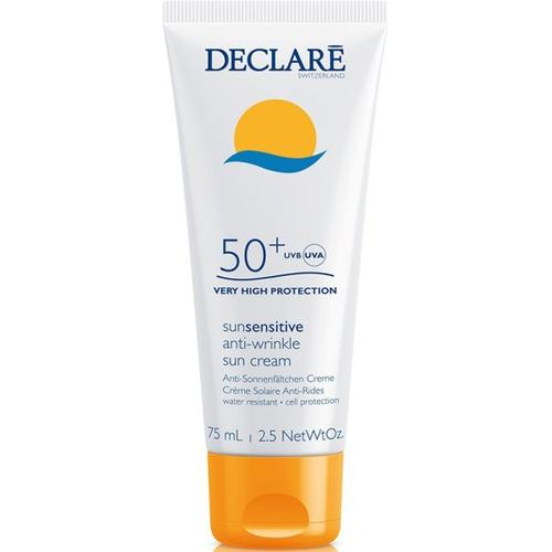 Declare Sun Sensitive Anti-Wrinkle Sun Cream SPF 50+ 75 ml Sonnencreme