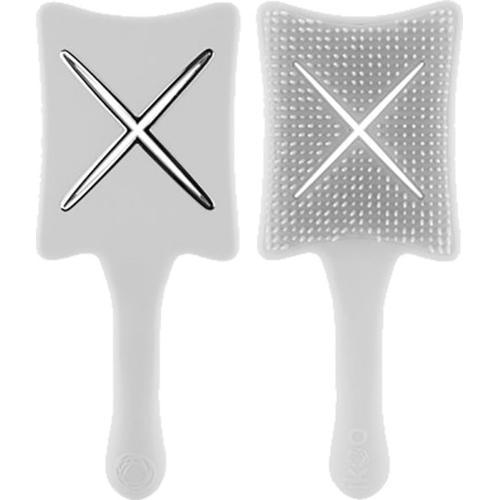 Ikoo Paddle X Pops Haarbürste Platinum White Paddlebürste