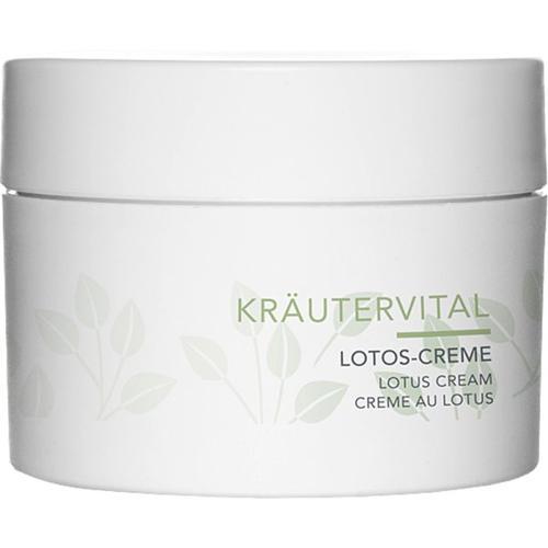 Charlotte Meentzen Kräutervital Lotos-Creme 50 ml Nachtcreme