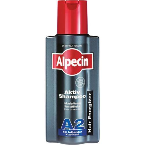 Alpecin Aktiv Shampoo A2 - fettende Kopfhaut 250 ml
