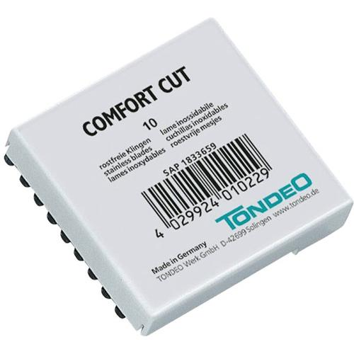 TONDEO Comfort Cut Klingen 10x10 Stk. (100 Klingen) Rasierklingen