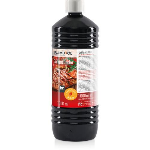 6 x 1 Liter Grillanzünder flüssig für Grills und Feuerstellen