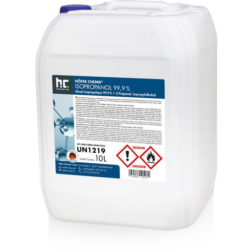 2 x 10 Liter Isopropanol 99,9%