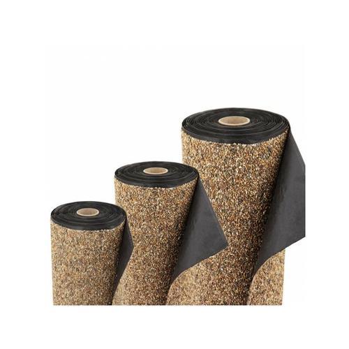 Aquagart - Steinfolie 10m x 0,4m breit Für Teichrand Bachlauf Teichfolie Teich Sandfarben