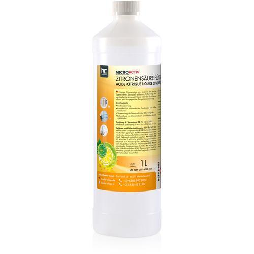 6 x 1 Liter Zitronensäure 50% in 1 L Flaschen