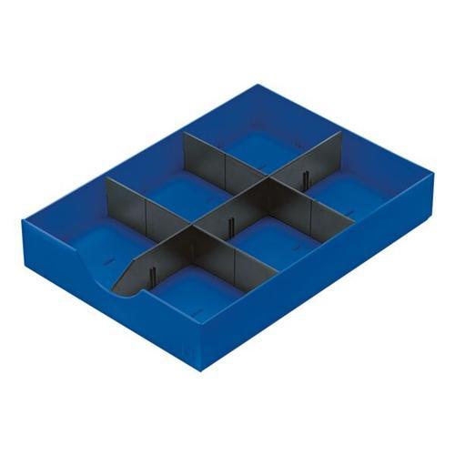 System-Schublade »Styrodoc« 268-405 blau, Styro, 23x5.5x30.4 cm