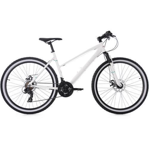 KS Cycling Mountainbike Larrikin, 21 Gang, Shimano, Tourney Schaltwerk, Kettenschaltung weiß Hardtail Mountainbikes Fahrräder Zubehör