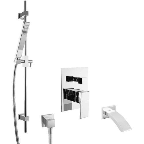 Unterputz Mischbatterie Set für Badewannen