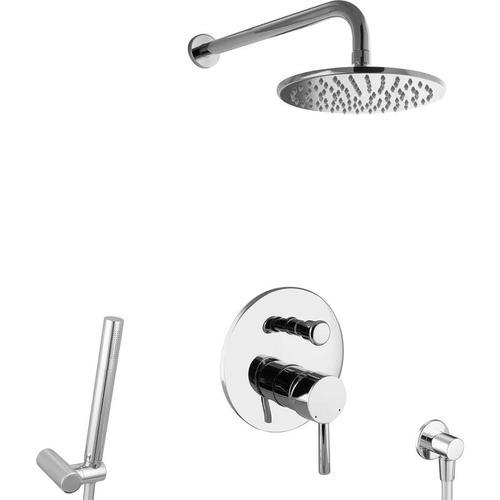 Unterputz Dusch Set Messing
