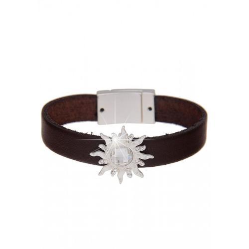 leslii Armband, mit Sonnen-Element braun Damen Armbänder Schmuck Armband