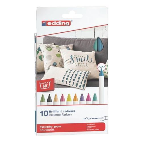 10er-Pack Textilstifte »4600/10999 Fun Colours«, Edding