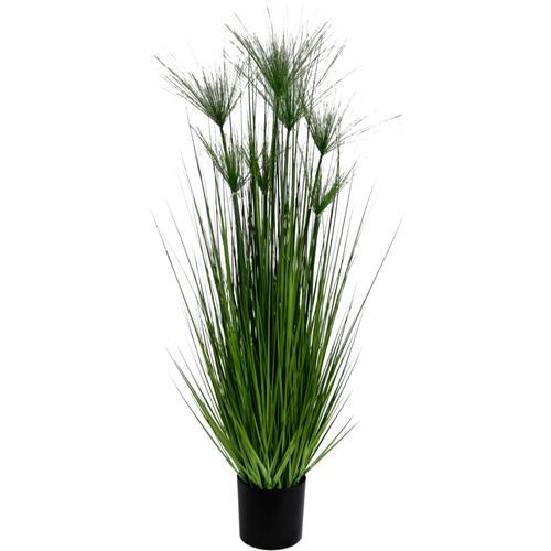 I.GE.A. Kunstpflanze Zyperngras im Topf grün Künstliche Zimmerpflanzen Kunstpflanzen Wohnaccessoires
