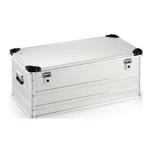 No-Name-Produkt Aluminiumbox L902xB495xH380mm 140 l mit Klappverschluss und Stapelecken