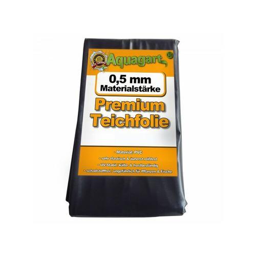 Teichfolie PVC 13m x 4m 0,5mm schwarz Folie für den Gartenteich