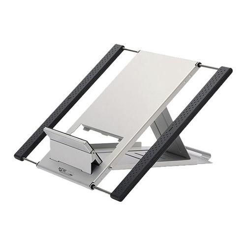 Tablett-/Notebook-Ständer silber, NEWSTAR, 27x25 cm