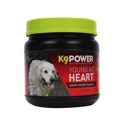 K9 POWER Young At Heart Nutritional Senior Dog Supplement, 1-lb jar