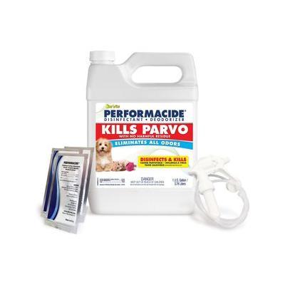 Performacide Kills Parvo Disinfectant & Deodorizer Kit, 1-gal jug