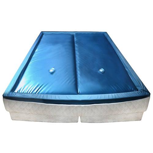 vidaXL Wasserbettmatratzen-Set mit Einlage + Trennwand 180 x 200 cm F5