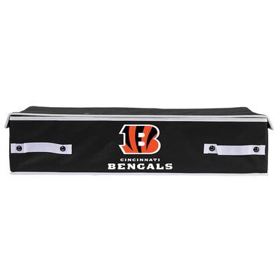 Franklin Sports Cincinnati Bengals Large Under Bed Bin