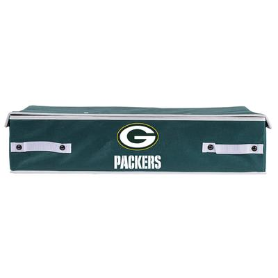 Green Bay Packers Franklin Sports Large Under Bed Bin