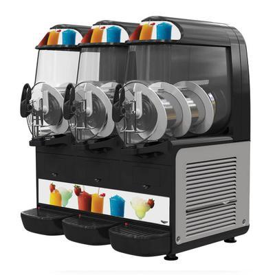 "Vollrath VCBF168-37 Frozen Drink Machine w/ (3) 2 16/25 gal Bowls, 23 1/2""W, 120v"