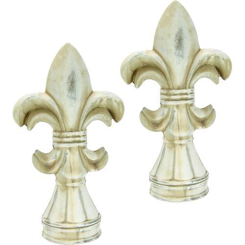 I.GE.A. Dekofigur, Französische Lilie (2er Set) beige Dekofigur