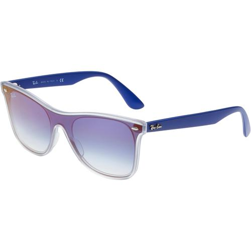 RAY-BAN 0RB4440N Sonnenbrille in transparent, Größe 41