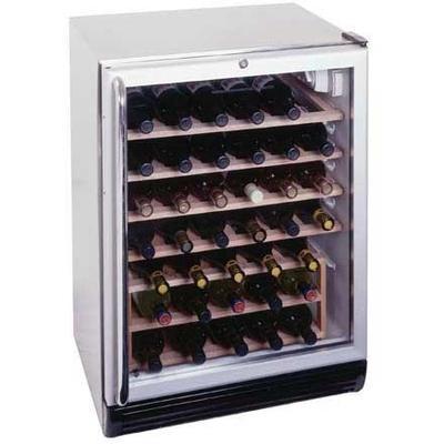 Summit SWC6GBLCSS 24 in. Wine Cellar   - Black