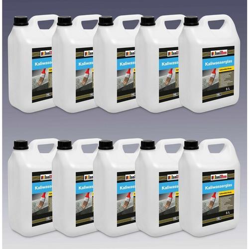 1 L - 100 Liter Kaliwasserglas Wasserglas Grundierung Versiegelung Verfestigung Kaliwasserglas:
