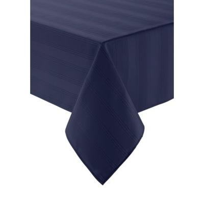 Arlee Home Fashions Inc.™ Blue Encore Microfiber Tablecloth 60-in. x 102-in.