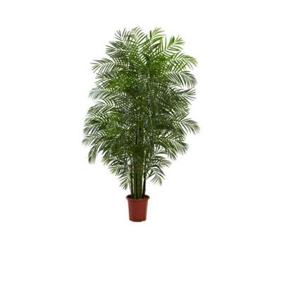 Nearly Natural Green 7.5-Foot Areca Palm Tree UV Resistant -Indoor/Outdoor