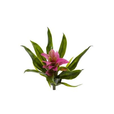 Nearly Natural Purple Bromeliad Artificial Flower