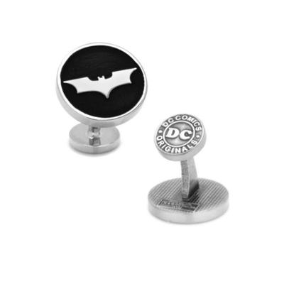 Cufflinks Inc Black Recessed Black Batman Dark Knight Cufflinks