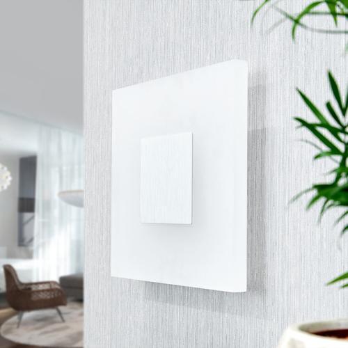 Quadratische LED-Wandleuchte Berlind