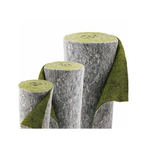 Aquagart - 80m x 1m Ufermatte grün Böschungsmatte Teichrandmatte für die Teichfolie