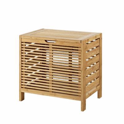 Bracken Bamboo Hamper - Linon 980214NAT01U