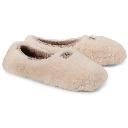 UGG, Hausschuh Ballerina in beige, Hausschuhe für Damen Gr. 36