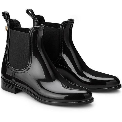 Lemon Jelly, Gummi-Boots Comfy in schwarz, Gummistiefel für Damen Gr. 38