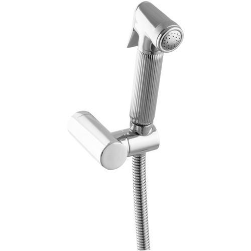 Paulgurkes - Spraybrause Bidetbrause Brausehalter rund Intimdusche Hygiene Dusche