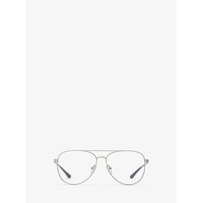 Michael Kors Procida Eyeglasses Silver One Size