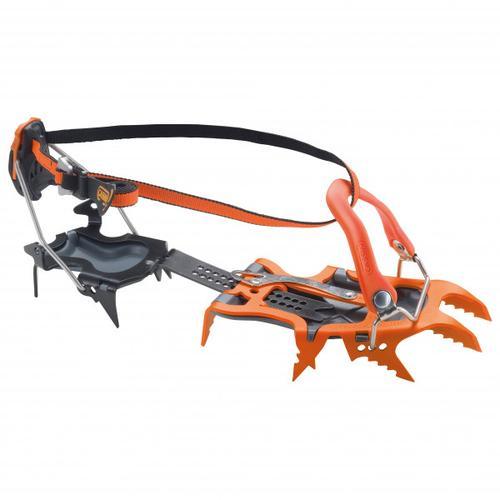 Cassin - Alpinist Pro - Auto / Semi-Auto - Steigeisen Gr 36-48 orange/schwarz