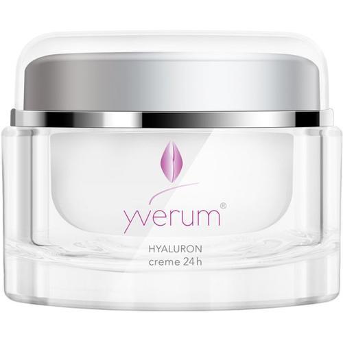 Yverum Hyaluron Creme 24 h 50 ml Gesichtscreme