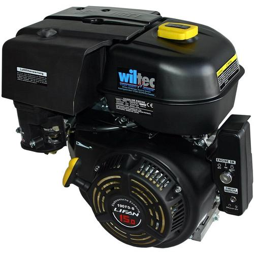 LIFAN 190 Benzinmotor 10,5kW (15PS) 25mm 420ccm mit Elektrostarter Kartmotor