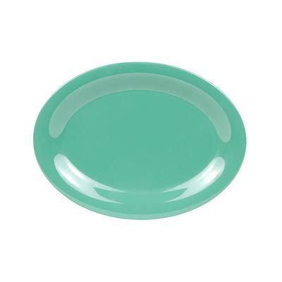 """GET OP-120-FG Melamine Serving Platter - 12"""" x 9"""", Green"""
