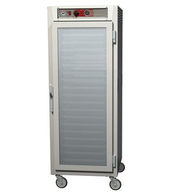 Metro C569-SFC-UPFS Full Height Insulated Mobile Heated Cabinet w/ (18) Pan Capacity, 120v